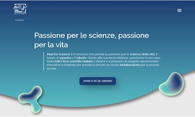 Mad for Science: 50 licei scientifici ammessi alla seconda fase del concorso
