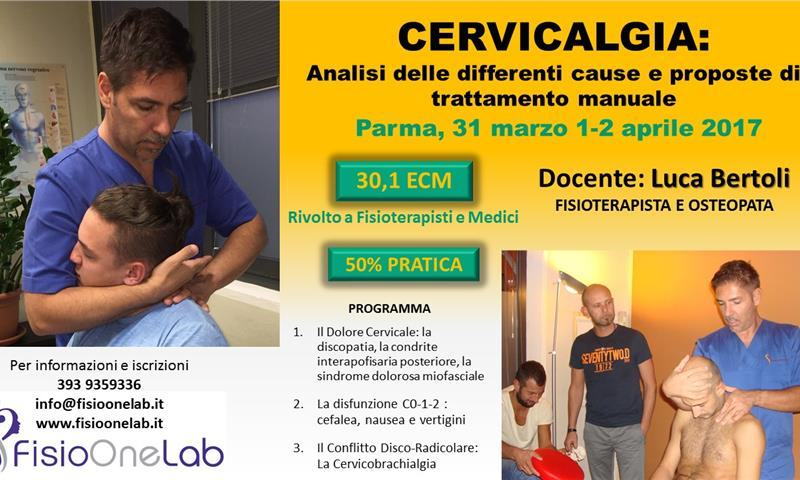 Cervicalgia - FISIO ONE LAB