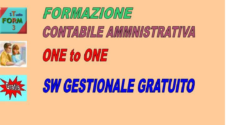 CONTABILITA' GENERALE + SOFTWARE - STUDIO FORM3