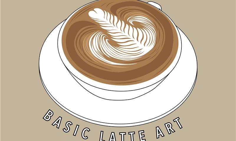 BASIC LATTE ART - WORK UP