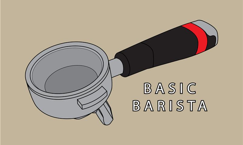 BASIC BARISTA - WORK UP