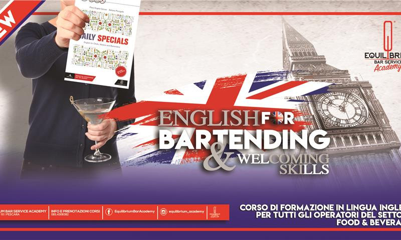 English for Bartendin & Welcoming Skills - EQUILIBRIUM BAR SERVICE ACADEMY