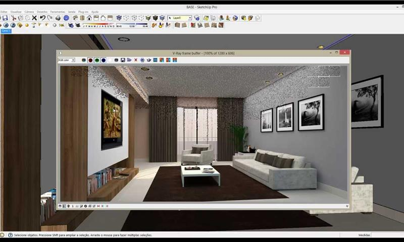 Sketchup vray progettazione modellazione 3d e pescara for Programmi per rendering
